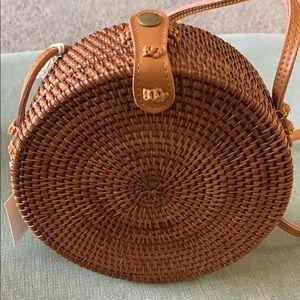 UA Handwoven Round Bag